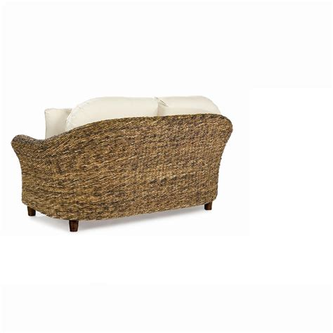 seagrass loveseat seagrass loveseat tangiers
