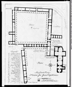 mission san juan capistrano floor plan diagram of san juan capistrano mission diagram of south