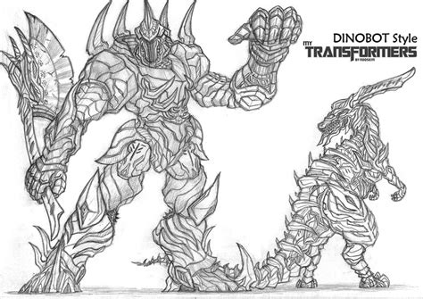 dinosaur transformers coloring page free coloring pages of transformers dino
