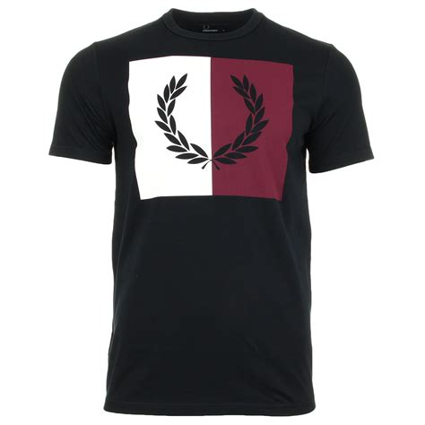 T Shirt Fred Perry Navy fred perry t shirt split navy m2525608 t shirts homme