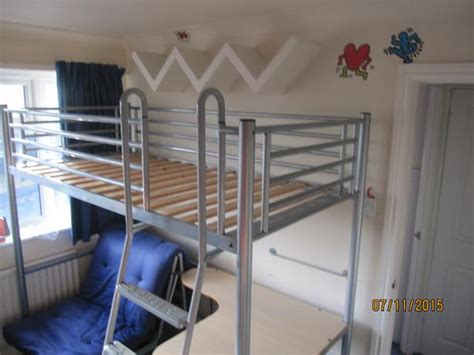 bunk bed with desk and futon chair be studio 3 bunk bed with futon chair bed and desk
