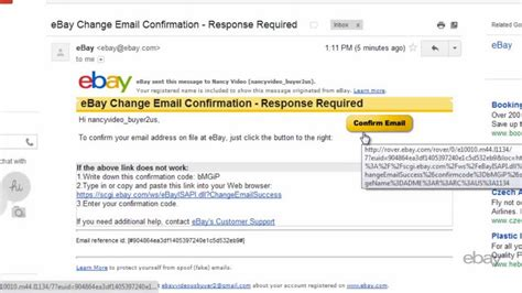 ebay email address ebay tutorials how to change your email address youtube