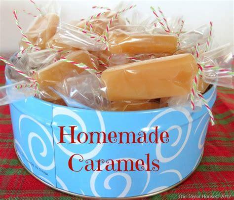 Handmade Caramels - caramels recipe