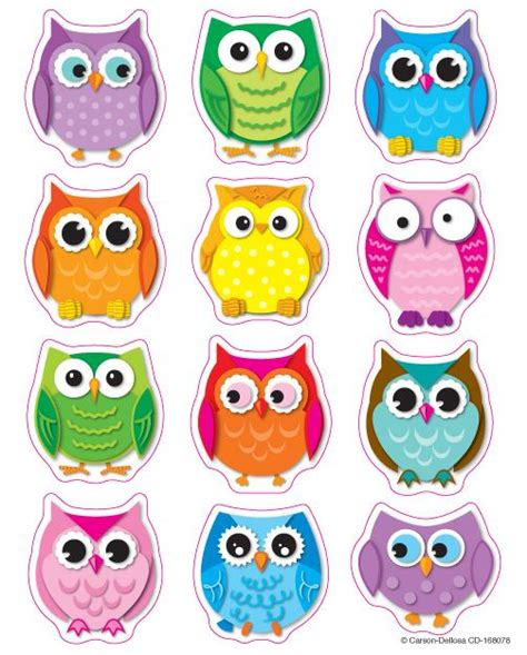 complete  owl themed classroom   colorful