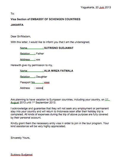 Surat Pengajuan Sponsor by Theblacklollipop Persyaratan Membuat Visa Schengen