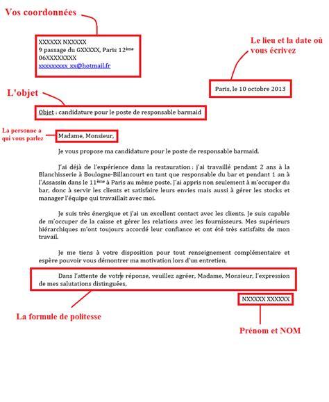 Exemple Lettre De Motivation Organisation Internationale Activit 233 3 Comprendre La Structure D Une Lettre De Motivation Autremonde