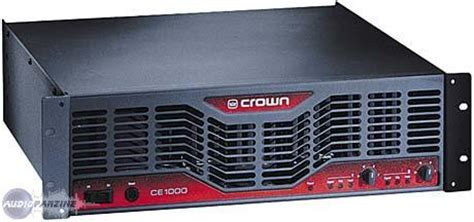 Power Lifier Crown Ce 1000 images audio files manuals for crown ce 1000