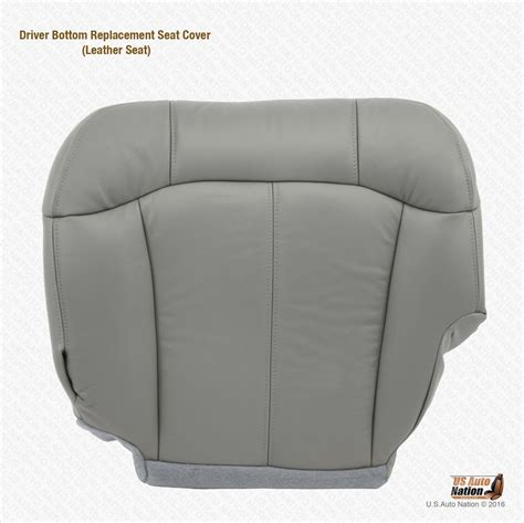 1999 chevy suburban leather seat covers 1999 2000 2001 2002 chevy silverado driver bottom leather