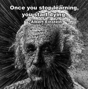 Starts To Detox Once You Stop by Albert Einstein Education Quotes Learning Quotesgram