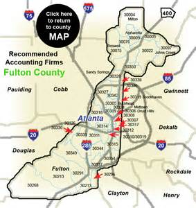 fulton county map pin county map hart on