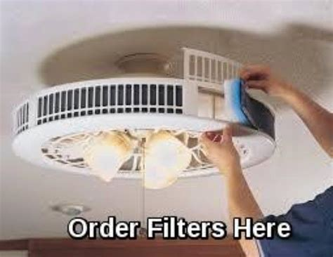 smoke eater ceiling fans purifan smoke and odor eater filter with charcoal