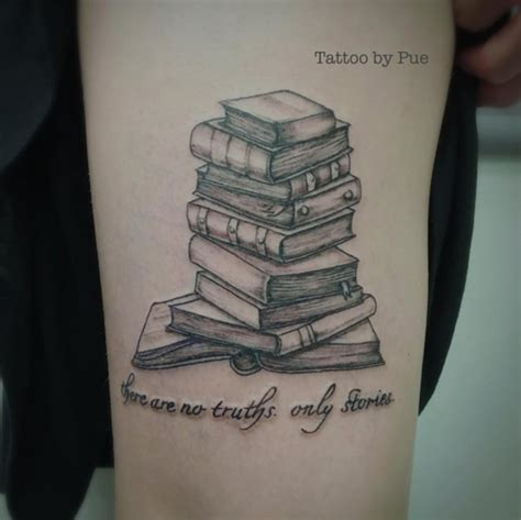 amazing book tattoos  literary lovers tattooblend