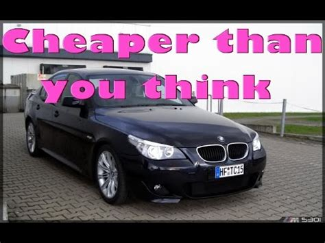 Owning A Bmw by Cost Of Owning A Bmw E60 530i