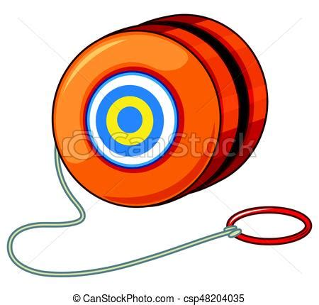Jojo Blender Green orange yoyo with ring illustration