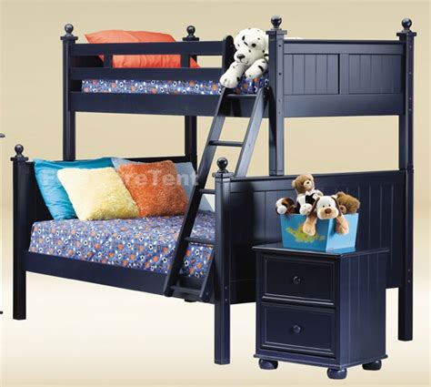 Navy Blue Bunk Bed Http Stores Ebay Furnituremail New Cottage Navy Blue Wood Bunk Bed Beds