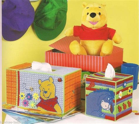 Tutup Tissue Basah Winnie The Pooh Tissue Cover 1 plastic canvas tissue holder patterns winnie the pooh tigger eeyore piglet plastic