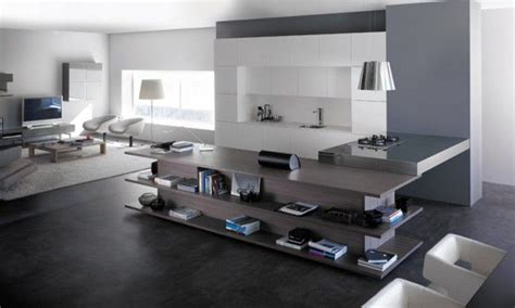 Minimalist Home Design Ideas by Kitchen And Living Room Combined A Few Fun Solutions