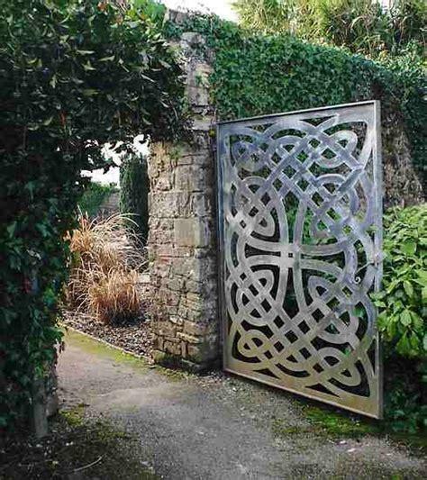 Celtic Garden Decor Celtic Garden Gate Design Inspiration Pinterest