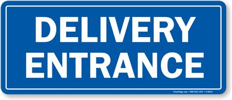 Directional Furniture by Delivery Entrance Signs Bing Images