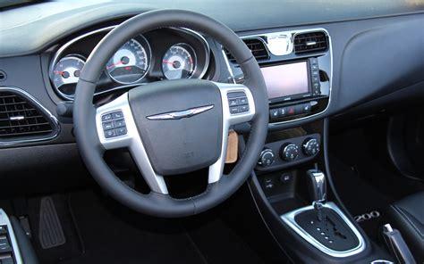 Chrysler 200 2014 Interior by 2014 Chrysler 200 Convertible Interior Top Auto Magazine