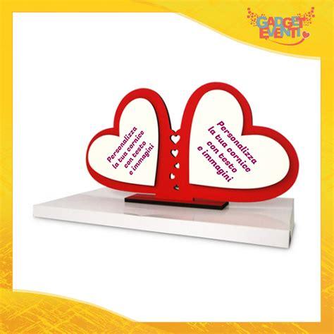 cornici cuore cornice portafoto per san valentino quot doppio cuore