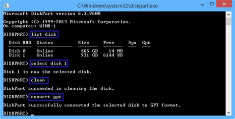 format disk as gpt diskpart 3 ways to change a disk from master boot record into guid