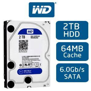 Hdd Wdc Blue 4tb 3 5 Sata Murah wd blue 4tb desktop wd40ezrz4tb hdd 64mb cache sata 6 0gb s 3 5 quot drive bare