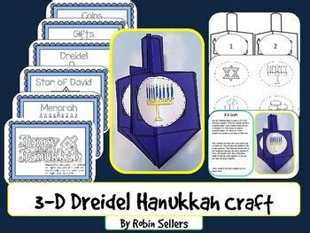 Hanukkah 3d Dreidel Hanukkah Craft For Holidays Around The World 3d Dreidel Template