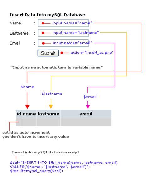 Insert Into Table Mysql by Insert Data Into Mysql