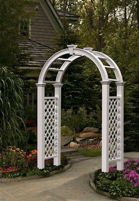 Trellis Archway beautify your backyard with a garden arch trellis my