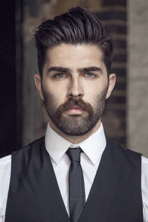 rugged clean cut 60 year old man 7 best beard styles for men with short hair milkman
