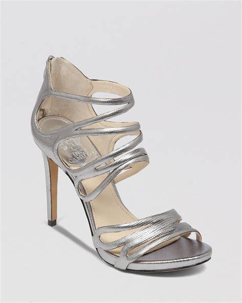 vince camuto silver sandals vince camuto open toe platform evening sandals fortuner