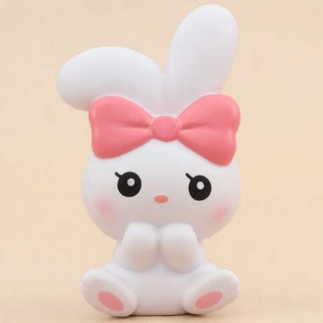 Squishy Licensed Woow Bunny Squishy Original scented white bunny animal squishy by ibloom