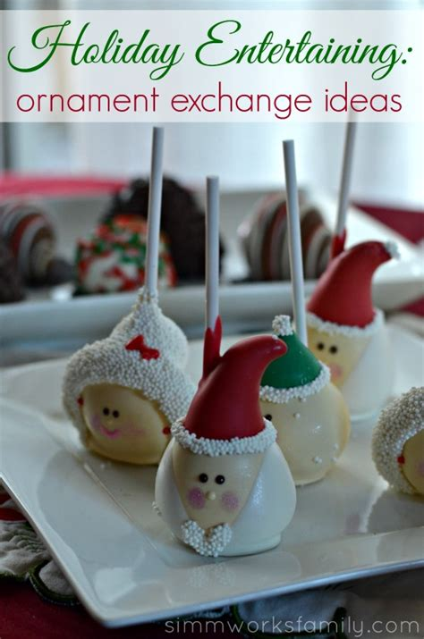 ornament exchange ideas holiday entertaining with shari s