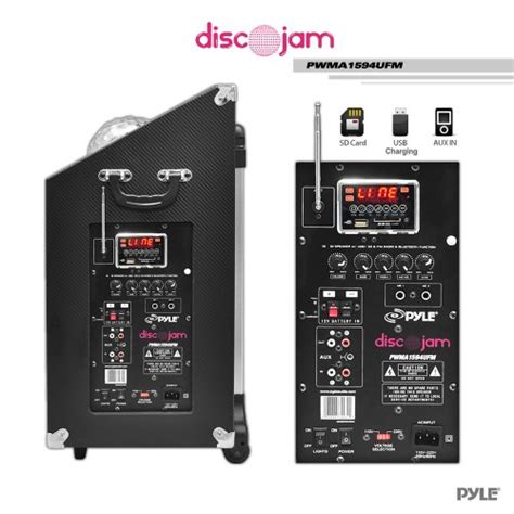 Subwofer Active 10 Inch Usb Sd Radio Input 3 5mm B Murah patron pro audio sub4000 single 18 inch dj active bass lifier 4000 watts max peak