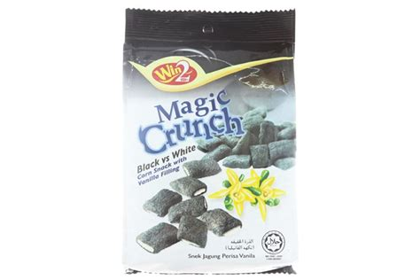 Snack Cho Cho Crunch b 225 nh snack bắp magic crunch nh 226 n kem vani b 225 nh snack bắp