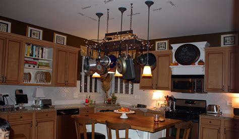 what to do with the space above kitchen cabinets transforming home november 2011