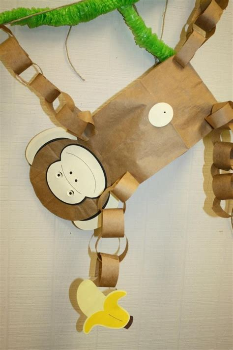 How To Make A Paper Monkey - 1000 ideas about rainforest theme on