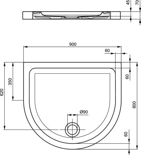 piatto doccia acrilico ideal standard dettagli prodotto t2552 piatto doccia in acrilico