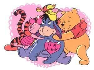 winnie the pooh valentines day eyore winnie the pooh picture