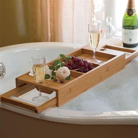 bathtub tray wood 15 bathtub tray design ideas for the bath enthusiasts among us