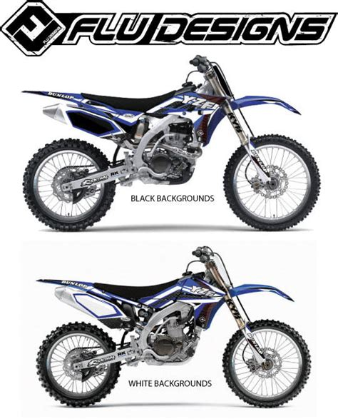 Flu Design Graphics Review | flu designs 2013 ts1 graphic kit yamaha bto sports