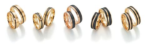 Eheringe Carbon Gold by Hightech Eheringe Carbon K 252 Sst Gold Die Hochzeitsmacher