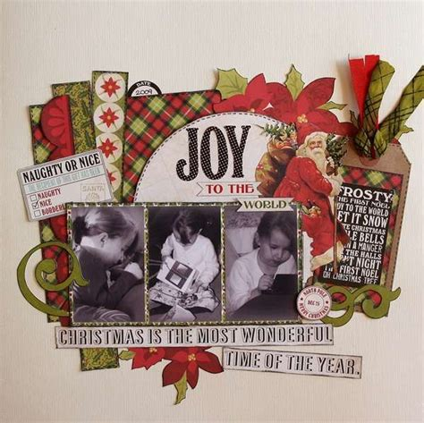 christmas layout design inspiration 17 best images about scrapbook pages christmas on