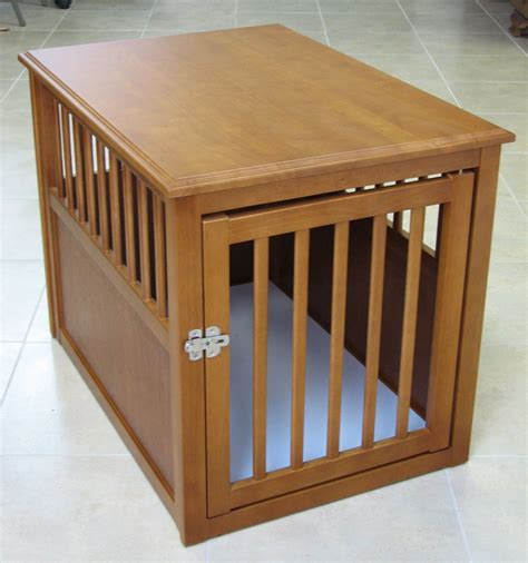 diy dog crate table top oak end table end table dog crate furniture diy dog crate