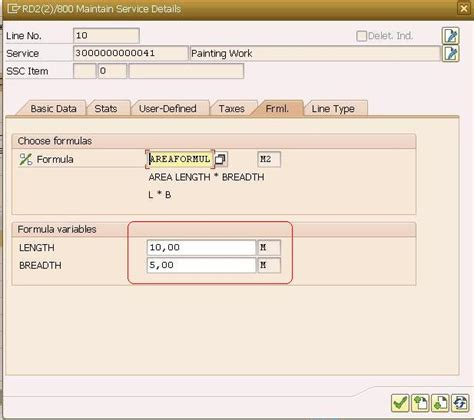 Sap Credit Management Formula Maintenance Service Procurement Using Formulas To Calculate Service Quantity Sap Blogs