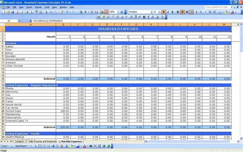budget template for startup business start up business budget template spreadsheets