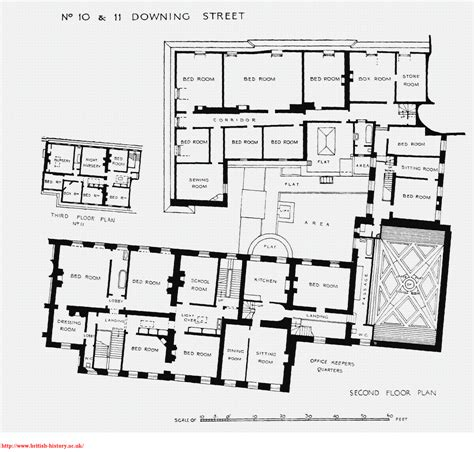 floor plan of 10 downing street forcing domesticity deconcrete