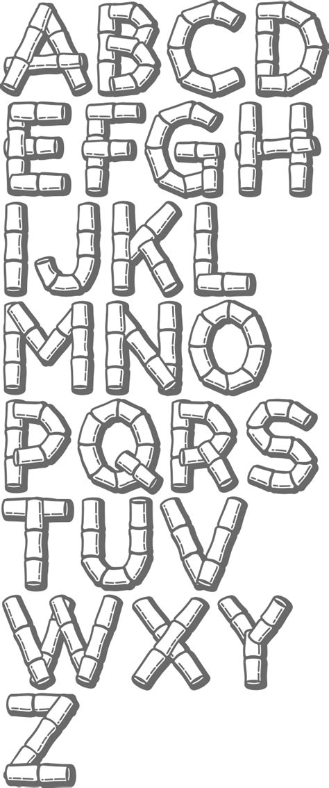 printable hawaiian letters printables free alfabeto fonts hawaiian fonts free