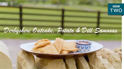 nadiya s food adventure 120 fresh easy and enticing new recipes books derbyshire oatcake potato dill samosas nadiya s